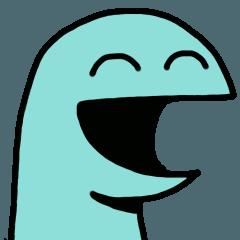 恐竜くんスタンプ3