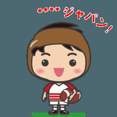ラグビー【カスタムスタンプ】