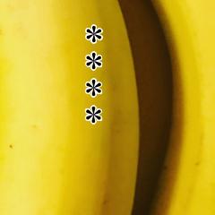バナナカスタムスタンプ