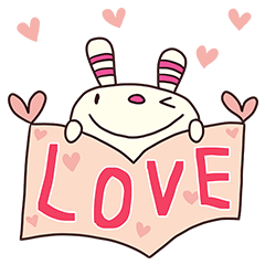 ヨコシマうさぎ13(LOVE編)