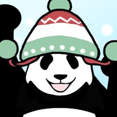 動く!やる気のないパンダ(冬3)