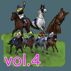 競馬スタンプ vol.4