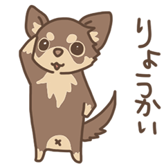 チワワの、ちゃいちゃん【日常】