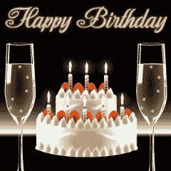 [LINEスタンプ] 大人の誕生日スタンプ セット