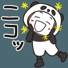 ▶︎動く!はな子✿冬パンダ子ちゃん。