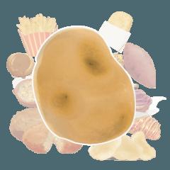 芋たべたい!!じゃが芋・さつま芋スタンプ