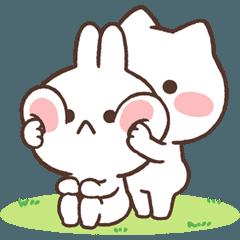 おしりのミミ&ネコ 【おちゃめな動き冬】