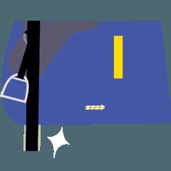 競馬のカスタムスタンプ