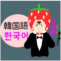 いちご男子な韓国語(ルビ、日本語)