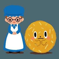ベイビーステラと楽しいクッキー