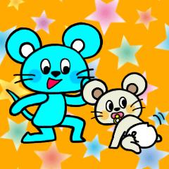 双子ネズミのチュッチュとチュール 3