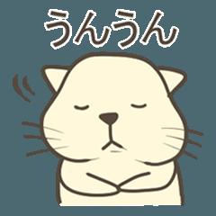 ぽちゃネコとトリ2