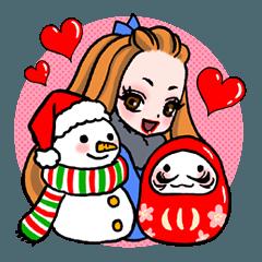 ミス・ポンパドール★クリスマス&お正月