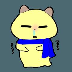 ゆるノラ猫のダダ 冬